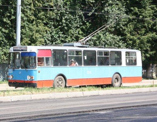 Йошкар-олинский троллейбус №4