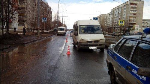 В Йошкар-Оле в ДТП пострадала школьница