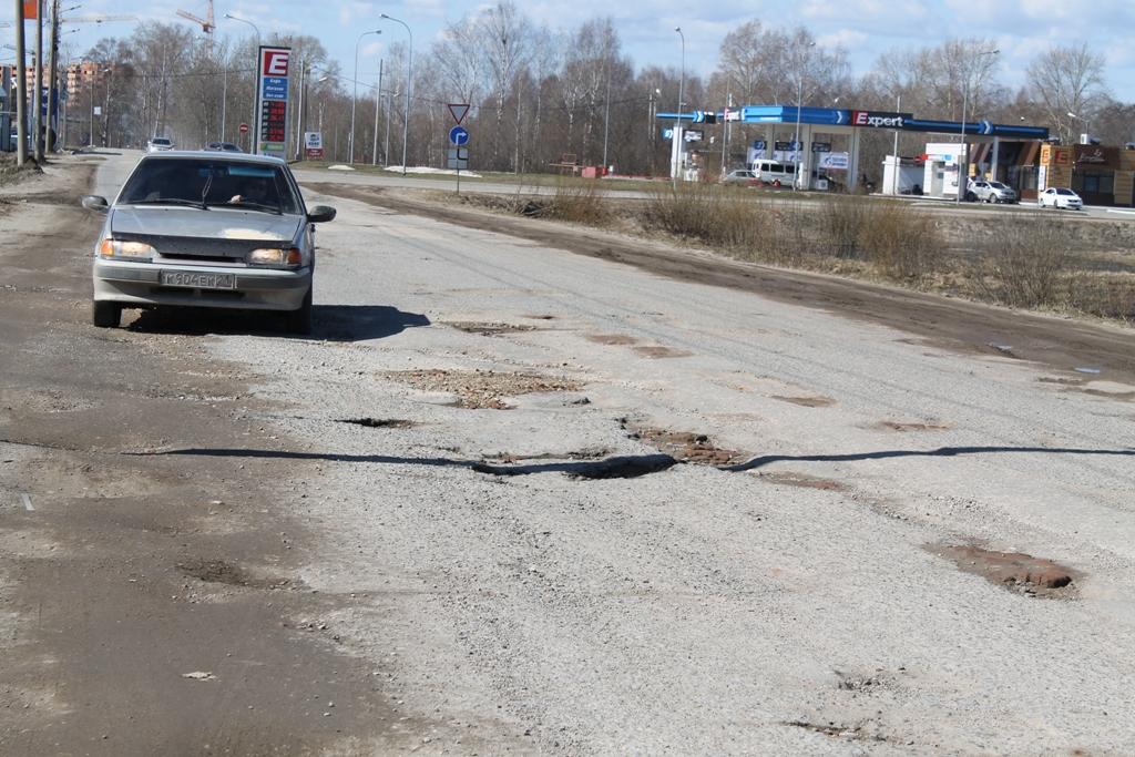 ОНФ назвал Йошкар-Олу гододом самых убитых дорог вМарий Эл