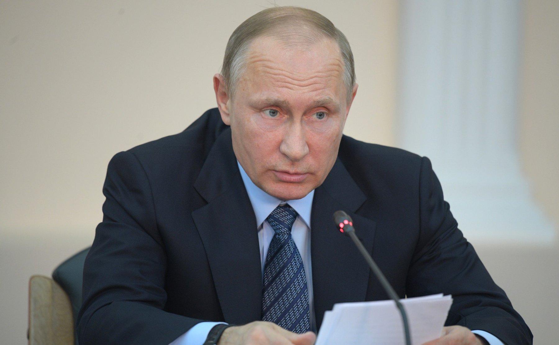 Владимир Путин прибыл вЙошкар-Олу
