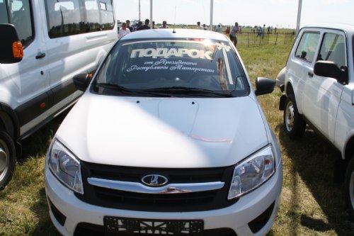Житель Марий Эл выиграл авто на Всероссийском сельском Сабантуе