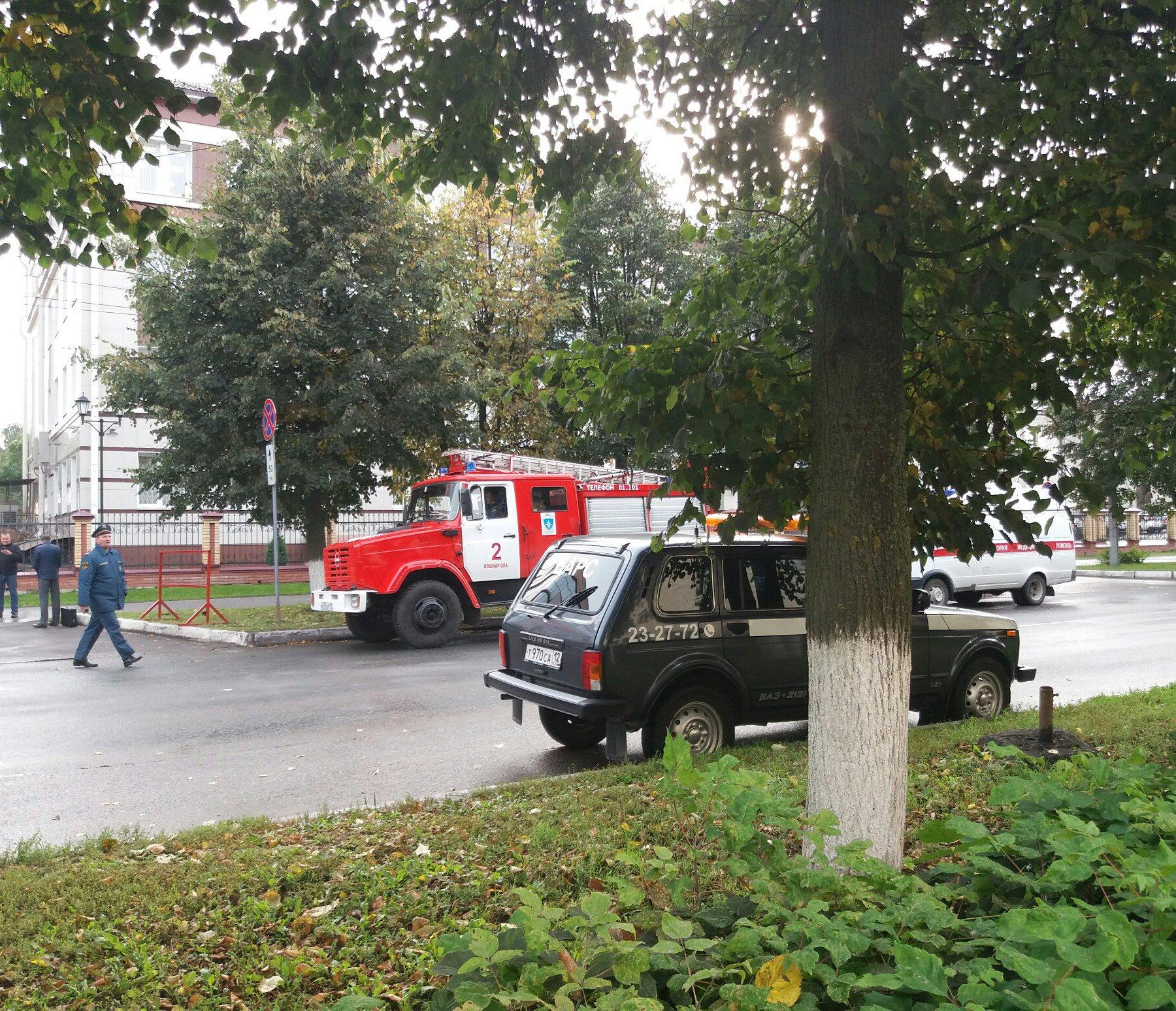 Неизвестные «заминировали» несколько зданий вЙошкар-Оле