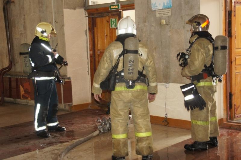 ВЙошкар-Оле удалось ликвидировать пожар в помещении университета