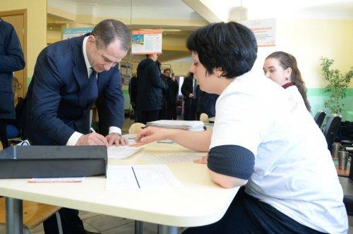 Михаил Бабич принял участие в голосовании на выборах Президента России