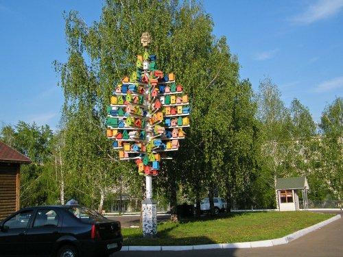 В Йошкар-Оле скоро появится дерево-скворечник