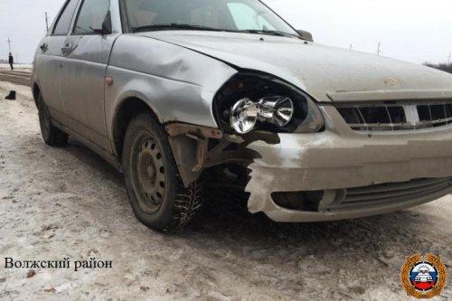 На Казанском тракте столкнулись три автомобиля