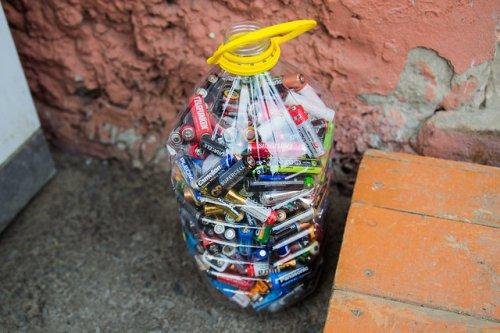 Как вы избавляетесь от алкалиновых батареек?