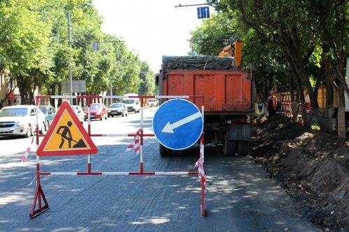 Ремонтные работы на улице Карла Маркса в Йошкар-Оле будут проводиться в дневное время