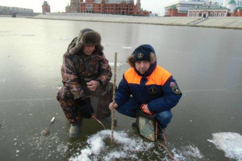 Выход на лёд озер и рек