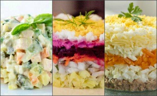 Какой салат, по вашему мнению, является самым новогодним?