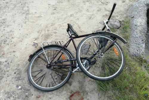В городе Волжске иномарка на перекрёстке не уступила дорогу велосипедисту