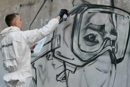 В благодарность врачам и в честь Дня России в Йошкар-Оле появится тематическое граффити