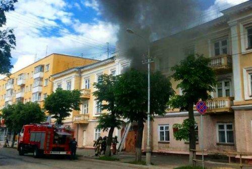 В результате пожара в студенческом общежитии в Йошкар-Оле никто не пострадал