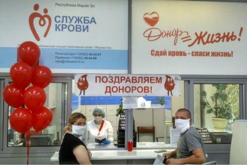 Жители Марий Эл активно участвуют во Всероссийском донорском марафоне
