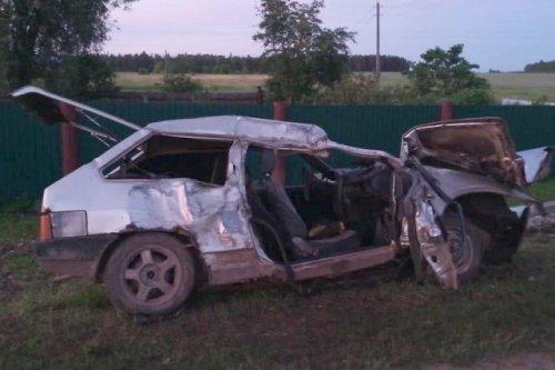 Несовершеннолетний пассажир попал в больницу в результате ДТП в Куженерском районе