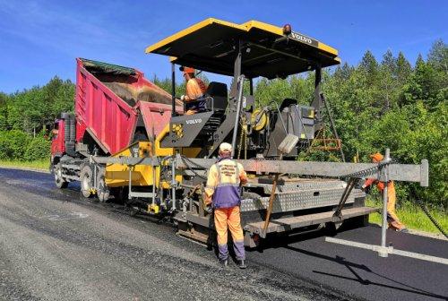 Дорожники Марий Эл продолжают работы по нацпроекту в Параньгинском районе