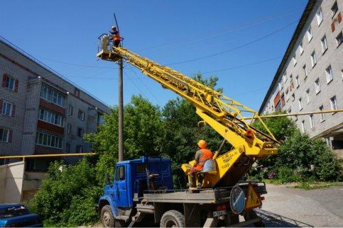 В городе Йошкар-Оле заканчивают менять ртутные лампы на светодиодные