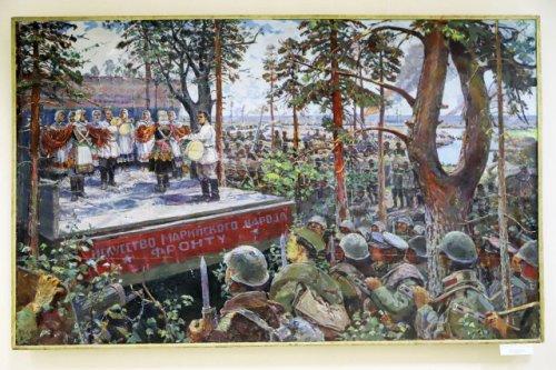 Выставка «Человек на войне», посвящённая 75-летию Победы, открылась в Йошкар-Оле