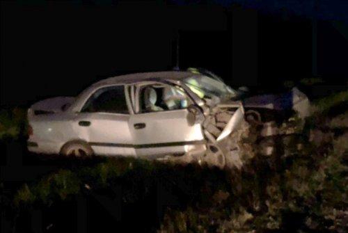 На Сернурском тракте ночью столкнулись два автомобиля, один человек погиб