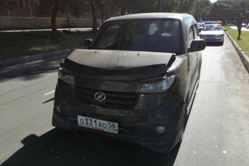 В результате столкновения двух иномарок в Йошкар-Оле пострадал один пассажир