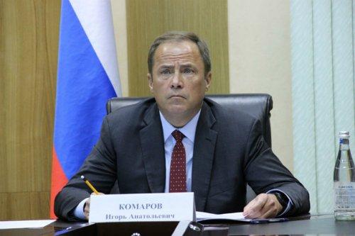 Полпред Игорь Комаров взял на контроль вопрос капремонта здания Медведевской гимназии