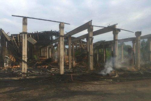 Работник пилорамы погиб в результате пожара в Килемарском районе