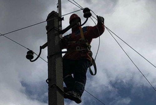 В городе Козьмодемьянске и Горномарийском районе восстановили электроснабжение