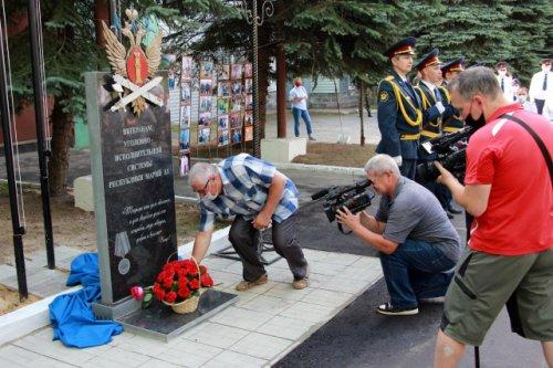 В Йошкар-Оле открыли памятник ветеранам уголовно-исполнительной системы Марий Эл