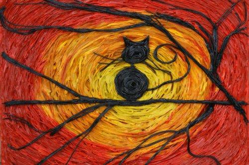 В музее за «колючей проволокой» появилась картина из теста, сделанная руками осуждённой