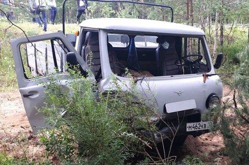 В Моркинском районе два автомобиля оказались в кювете