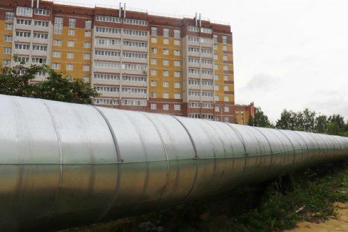 Энергетики заменили в Йошкар-Оле изоляцию на 200-метровой тепломагистрали