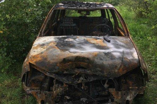 В Звениговском районе сгорели гараж и легковой автомобиль