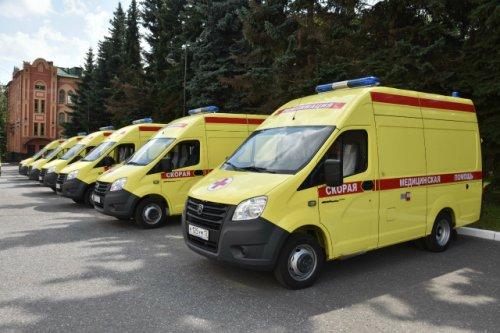 В Марий Эл поступили десять машин скорой медицинской помощи