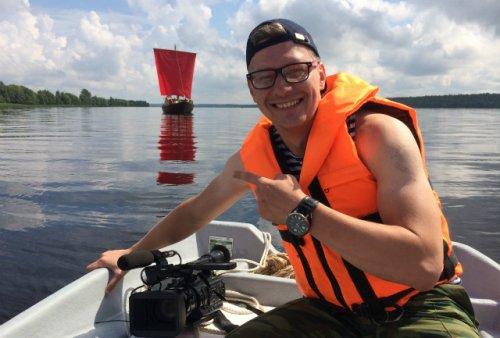 Илья Королёв, телерадиоведущий: «Радуюсь возможности совмещать две свои любимые стихии – журналистику и морской флот»
