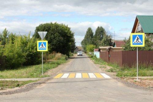 В поселке Оршанка по нацпроекту отремонтировали шесть улиц