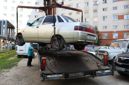 Житель Йошкар-Олы остался без автомобиля из-за долгов за тепло