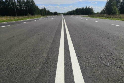 В Нижегородской области отремонтировали участок дороги на границе с Марий Эл