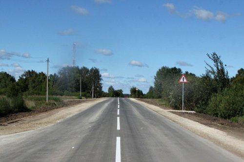 В Медведевском районе четверть проблемной дороги официально введена в эксплуатацию