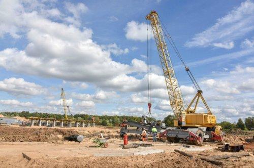В Йошкар-Оле продолжается строительство объездной дороги через Сосновую Рощу