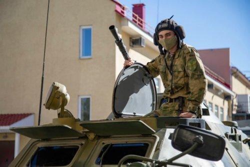 Национальная гвардия проводит на территории ПФО плановые учения