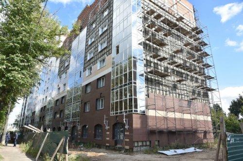 Проблемный дом в микрорайоне «Оршанский» будет сдан в эксплуатацию до конца года