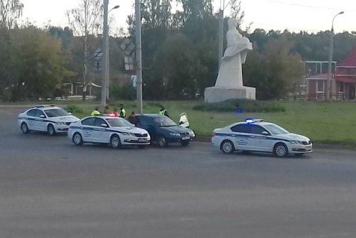 Сотрудники Госавтоинспекции в результате погони задержали нетрезвого водителя