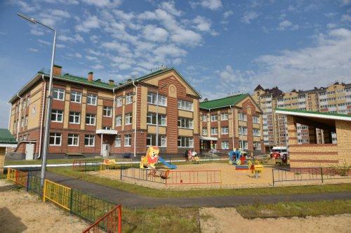 В посёлке Медведево открыт новый детский сад на 320 мест