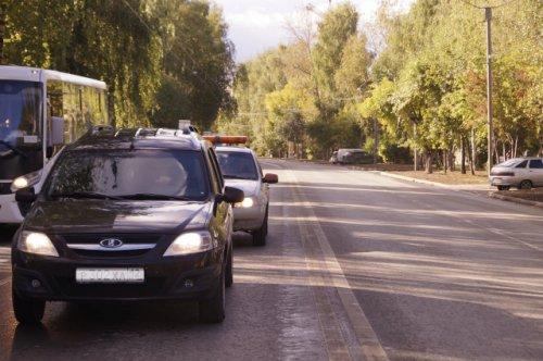 В Йошкар-Оле ещё одна дорога введена в эксплуатацию после ремонта по нацпроекту