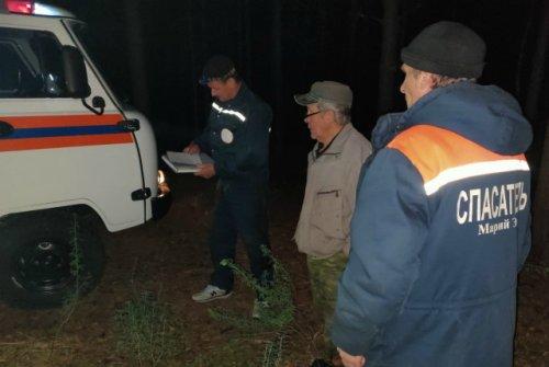 Житель Чебоксар, собиравший ягоды, потерялся в лесах Марий Эл