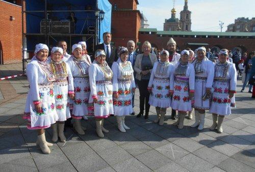 Сегодня состоялся «Праздник цветов» в Царевококшайском Кремле