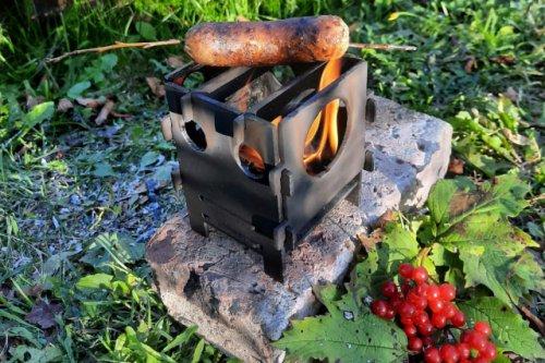 В Марий Эл за «колючей проволокой» разработали и изготовили походную мини-печь