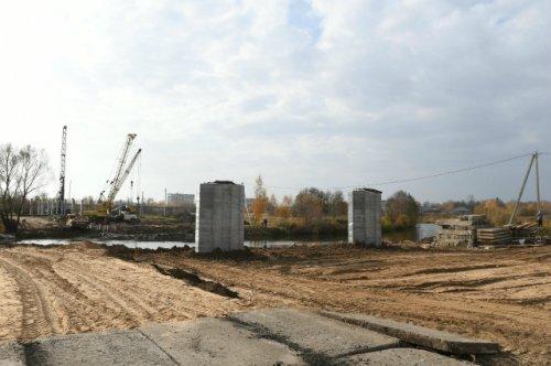 Работы по строительству магистрали от улицы Кирова до Строителей ведутся по графику