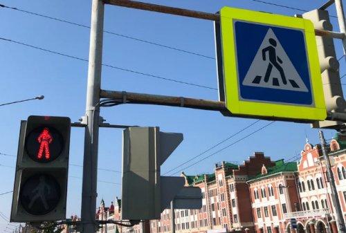 Трёхфазные светофоры в Йошкар-Оле сделаны: