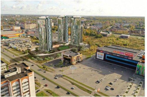 В Йошкар-Оле на улице Кирова в перспективе могут быть построены три 22-х этажных дома
